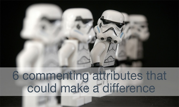 commenting attributes