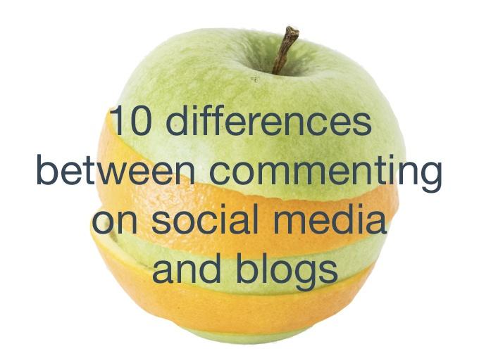 social media commenting