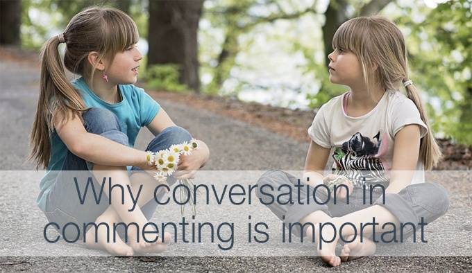 conversation in commenting