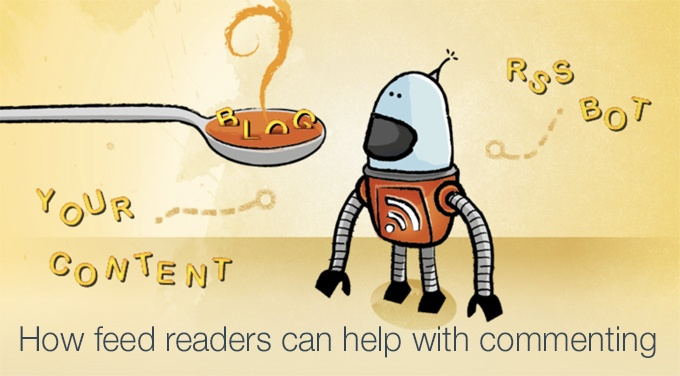 feed readers help commenting