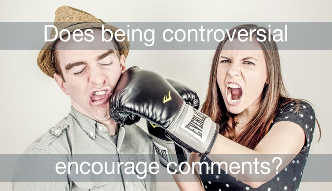 being controversial