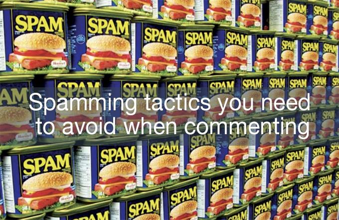 spamming tactics