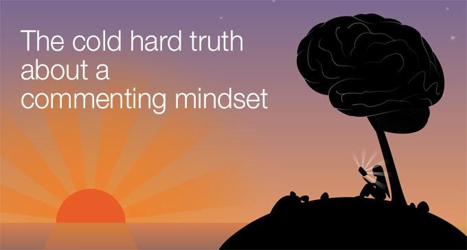 commenting mindset