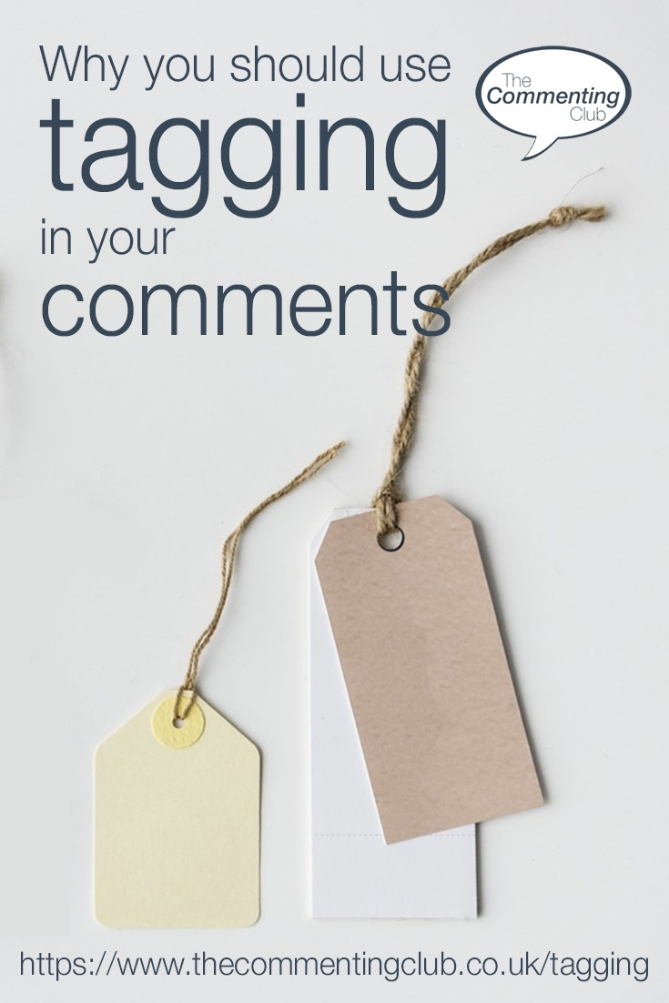 Use tagging in your comments on social media for a massive effect towards gaining more visibility, credibility, links and business relationship building.