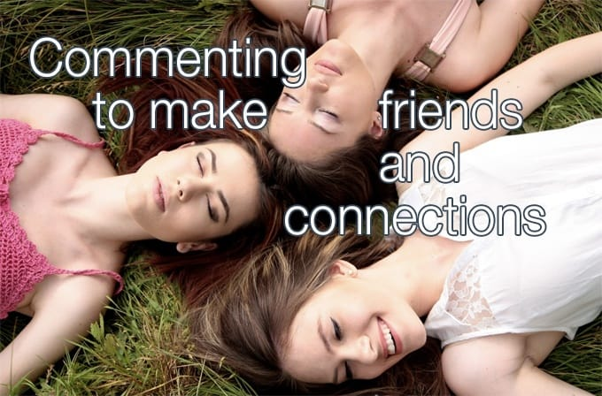 commenting to make connections