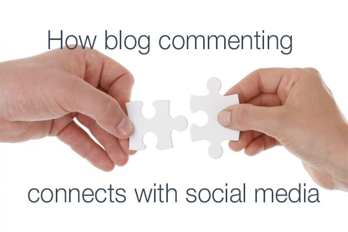 how blog commenting connects with social media