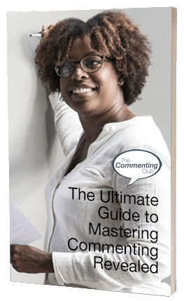 commenting ebook cover