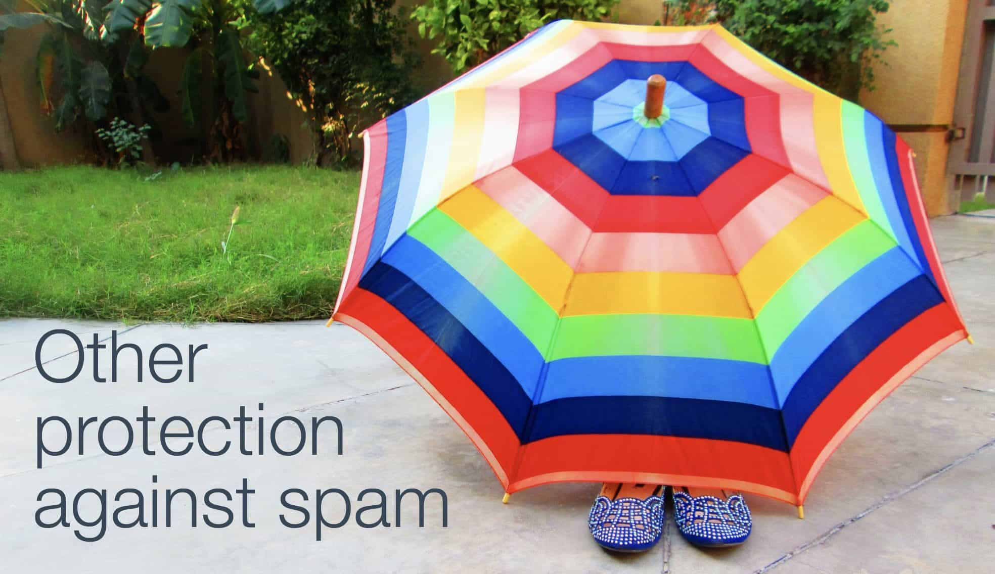other protection against spam