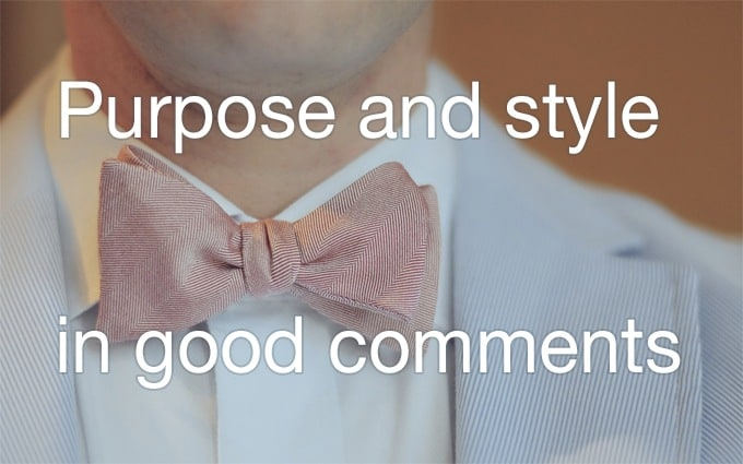 purpose and style