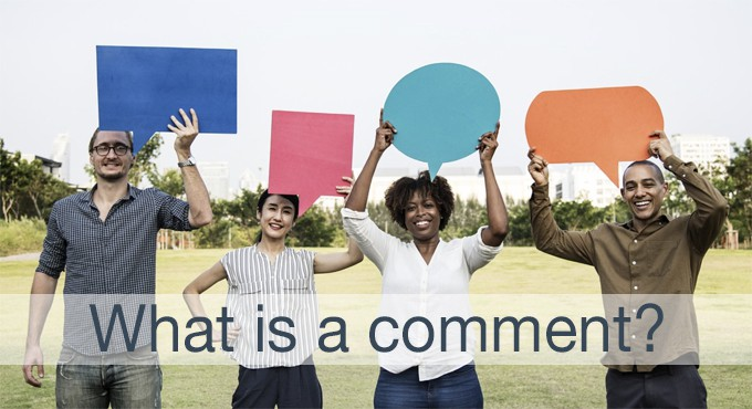 what is a comment?