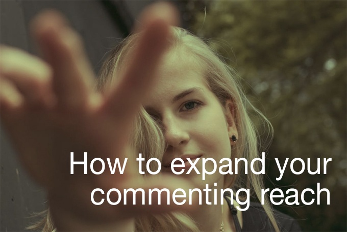 commenting reach