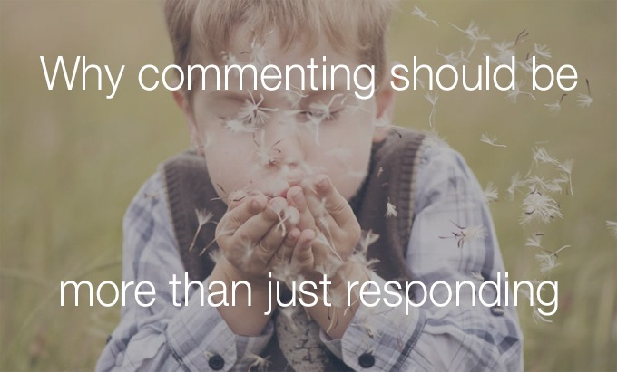 more than just responding
