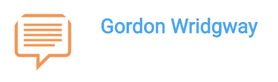 Gordon Wridgway's gravatar has no photo of him, so not suitable as a gravatar for commenting.