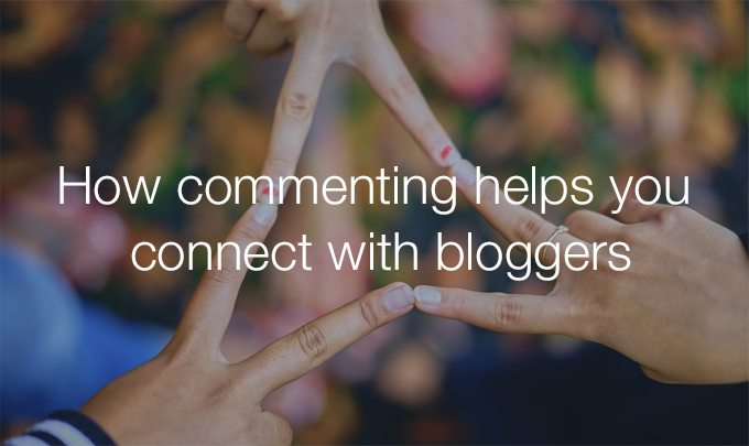 connect with bloggers