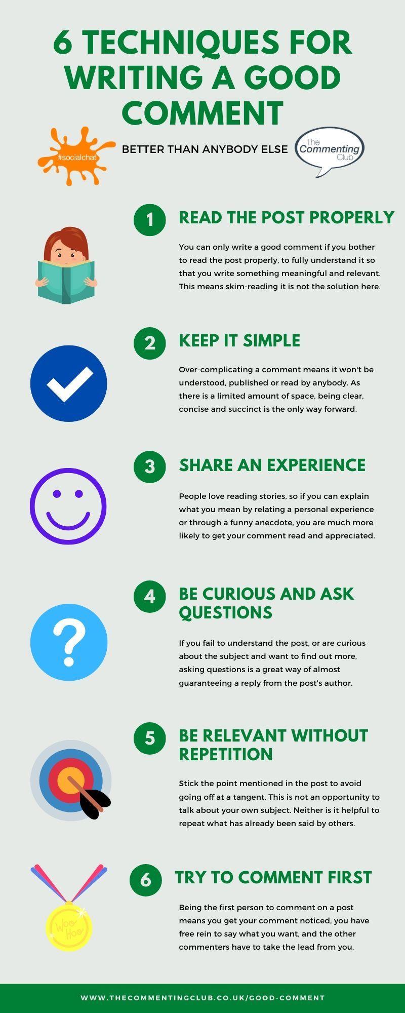 6 методов написания хорошего комментарий