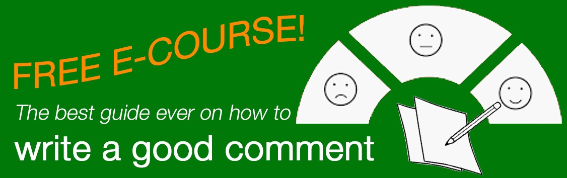 write a good comment course