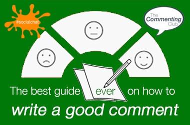 write a good comment course logo