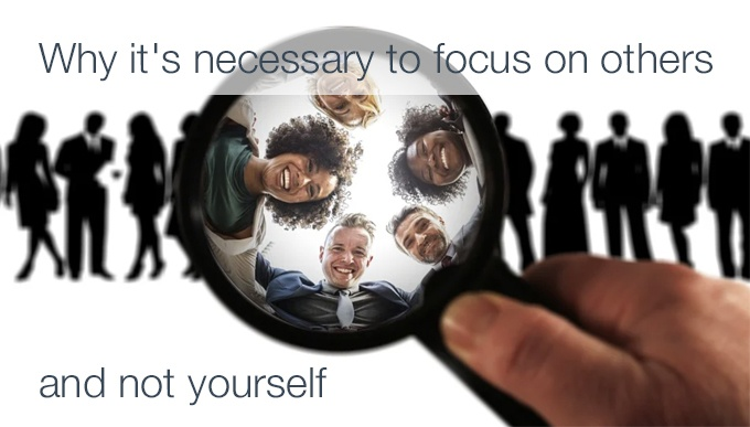 focus on others