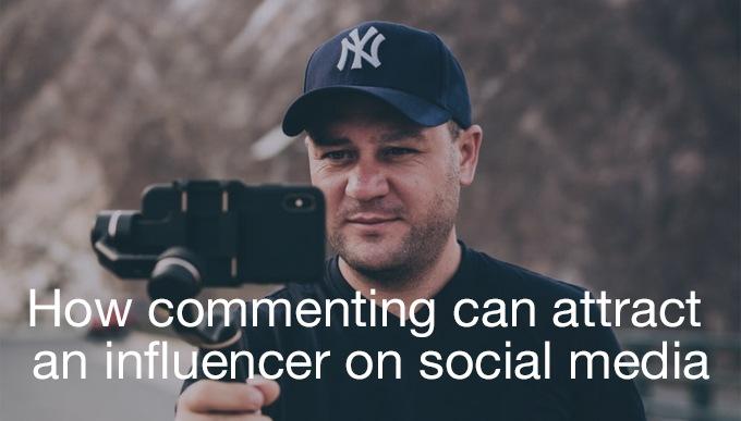 influencer on social media