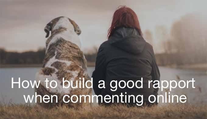 build a good rapport