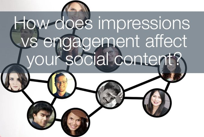 impressions vs engagement