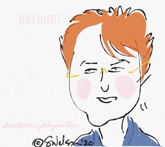 Cartoon Alice Elliott