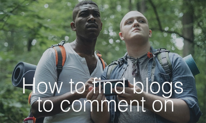 how to find blogs