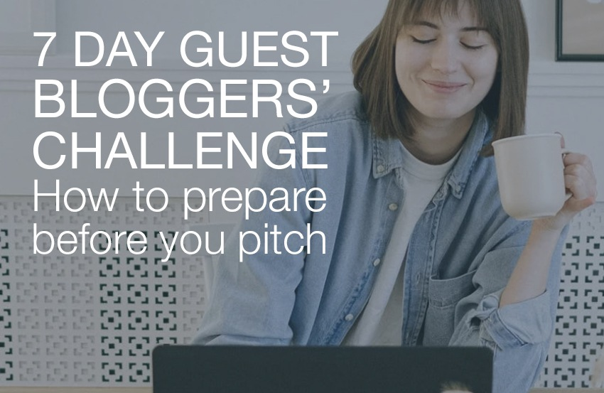 Guest bloggers' challenge logo