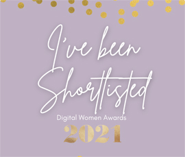 Digital Women 2021 Shortlisted